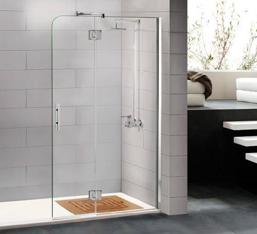 Mamparas de ducha bisagra rotativa aluminios moncloa for Bisagras para mamparas