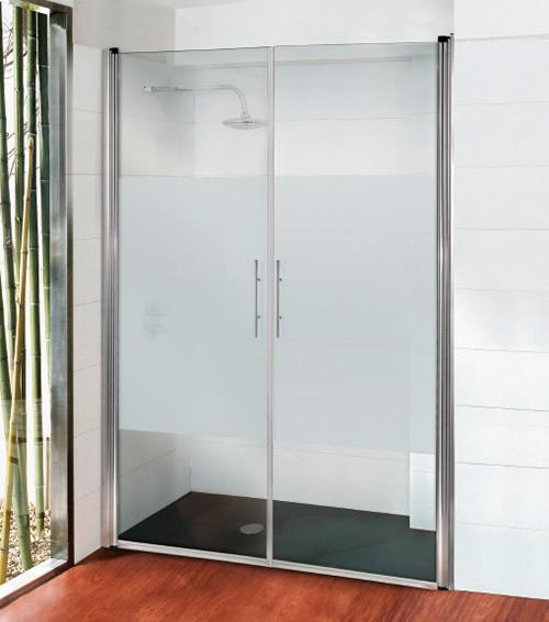 Mamparas de ducha gama vaiven aluminios moncloa fabrica for Mamparas de ducha segunda mano madrid